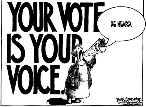 NEWS 5 February 2014 – Your vote does count.