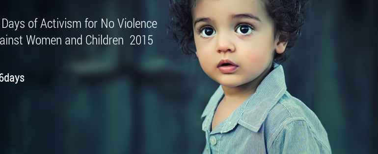 Say no to violence against women and children #16days